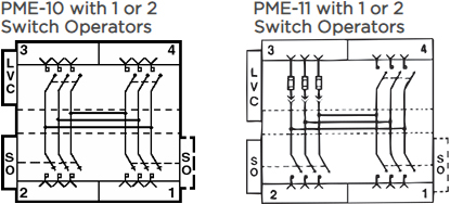 PME-11 with 1 or 2 Switch Operators